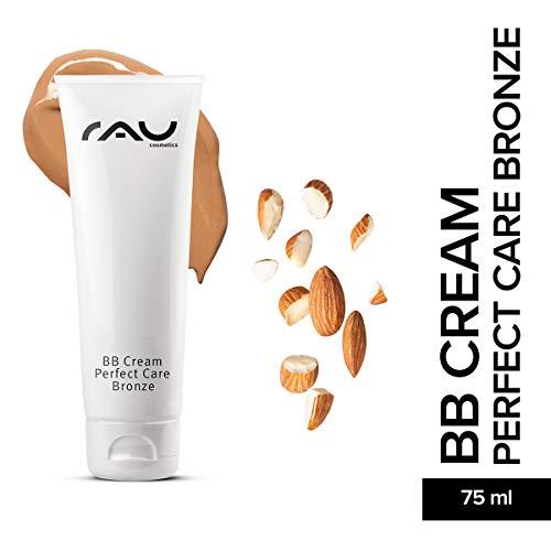 RAU BB Cream Perfect Care Bronze 75 ml - Gesichtspflege & Make-up in Einem - Perfekte Abdeckung + Pflege + UV-Schutz - Getönte Tagescreme mit Zink, Vitamin E