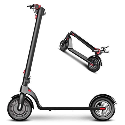 L&WB Scooter eléctrico electrónico Adulto-(Pantalla de Control de LED Central)-8,5