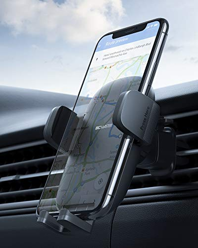 Versione Più Stabile BCMASTER [Versione Aggiornata] Porta Cellulare da Auto Girevole a 360 Gradi,Adatto per iPhone 11 / XS / X / 8/7, Samsung Galaxy S10 / S10 +, Huawei, Xiaomi e Dispositivi GPS,ECC