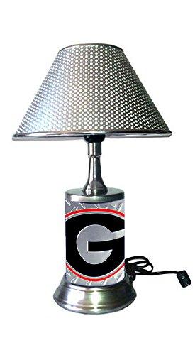 georgia bulldog lamp - 6