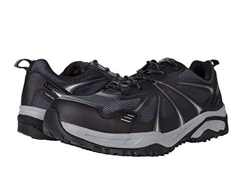 Skechers Azbar Comp Toe Black/Gray 7 D (M)