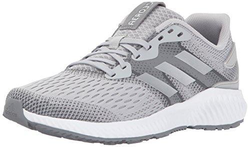 adidas Women's Aerobounce w Running Shoe, Two/Metallic Silver/Grey Five, 11.5 Medium US