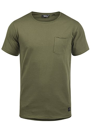 !Solid Andrej Herren T-Shirt Kurzarm Shirt Mit Rundhalsausschnitt Aus 100% Baumwolle, Größe:L, Farbe:Ivy Green (3797)