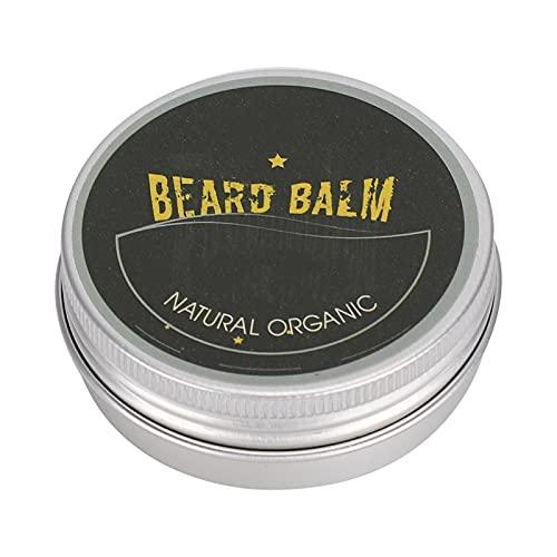 Acondicionador de barba Bigote Grooming Smoke para peluqueros de salón para uso diario para peluqueros(30g, Santa Claus)