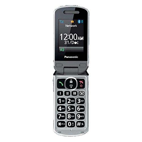 Panasonic KX-TU349EXNE Handy 114 g Champagner, Chrom - Handys (Klappgehäuse, Single SIM, 240 x 320 Pixel, Bluetooth, Champagner, Chrom)
