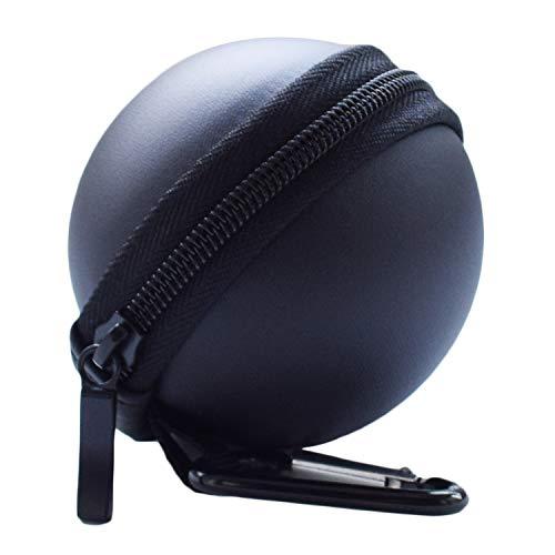 Tragetasche kompatibel mit Nintendo Switch Poke Ball und Controller, Hikfly Travel Pokeball Tasche Hartschützende, tragbare Zubehörteile für Pokémon Lets Go Pikachu Eevee-Spiel (Black)
