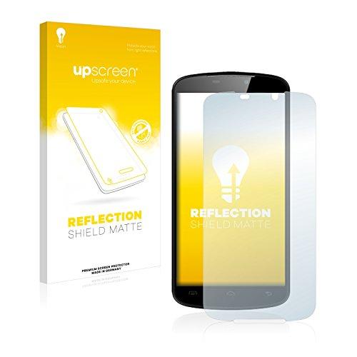 upscreen Entspiegelungs-Schutzfolie kompatibel mit Doogee X6 / X6 Pro – Anti-Reflex Bildschirmschutz-Folie Matt