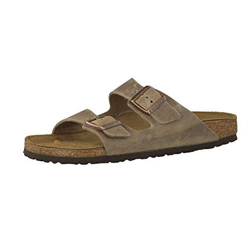 Birkenstock Arizona, Sandales, Marron (Tabacco Brown) - 46 EU (Slim) (étroit)