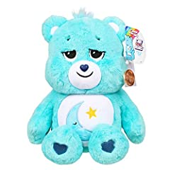 "SOFT HUGGABLE MATERIAL - Bedtime Bear is 16"" inches in size, comes in a soft huggable material (ready for unlimited bear hugs), and comes with a collectible Care Coin. UNIQUE BELLY BADGE - Bedtime Bear helps everyone get a good night's sleep with ple..."