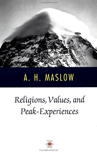 Religions, Values, and Peak-Experiences (Compass)
