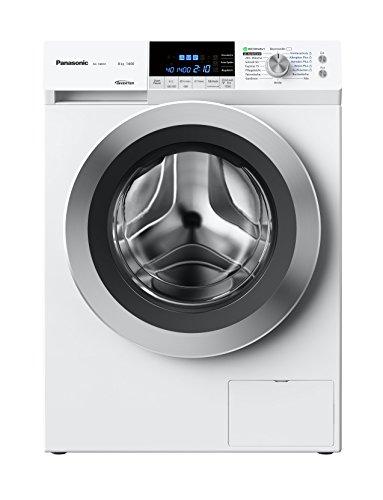 Panasonic Deutschland NA-148XS1WDE Waschmaschine FL / 117 kWh/Jahr / 1400 UpM / 8 kg / hohe Energieeffizienz: A+++ (-40%) /Schontrommel