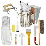 Nicejoy Bienenzucht-kit Für Anfänger Beehive Raucher Bee Pinsel Bienenzucht Zubehör Bienenzucht Ausrüstung Werkzeug Für Professionelle Imker 10pcs