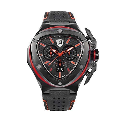 Tonino Lamborghini Spyder X Chronograph, rot, T9XA