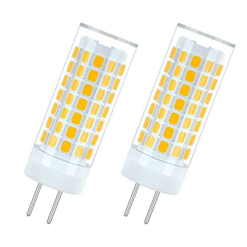 7117 GY6.35 LED-Glühbirnen Nicht dimmbar 6W Entspricht 75 Watt G6.35 Halogenlampe 690LM Warmweiß 3000K AC 90-265V (2er-Pack)