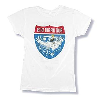Machine Gun Kelly Road Tripping Tour Girls Juniors White T Shirt  XL