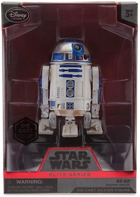 Star Wars 4'' Elite Series DieCast Figure R2D2 (Episode VII  The Force Awakens)