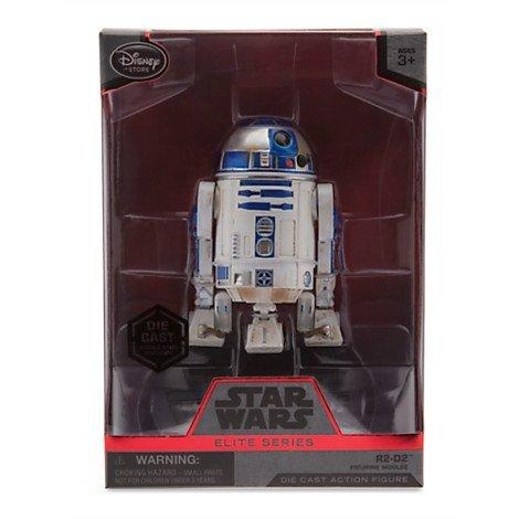 Star Wars 4'' Elite Series Die-Cast Figure R2-D2 (Episode VII: The Force Awakens) by Disney