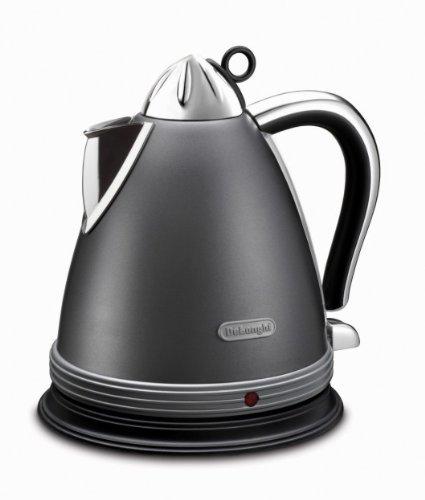 Delonghi KBM2011 Delonghi KBM2011 1.7 Liter 2000-Watt Tea Kettle, 220V (Non-USA Compliant), Silver [並行輸入品]