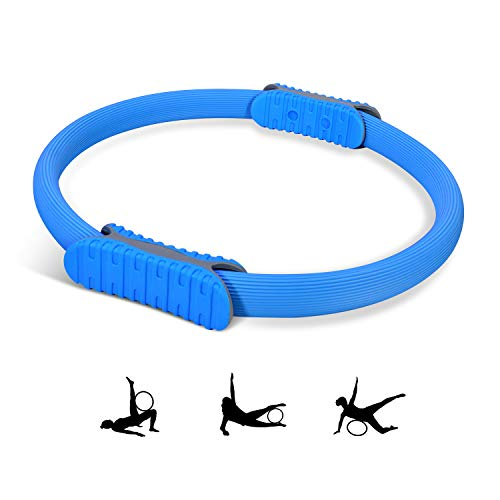 Kriogor Pilates Ring, Widerstandsring Loop Circle für Yoga Fitness Training von Oberkörper, Arm, Bein, Muskeln (Ø38cm)