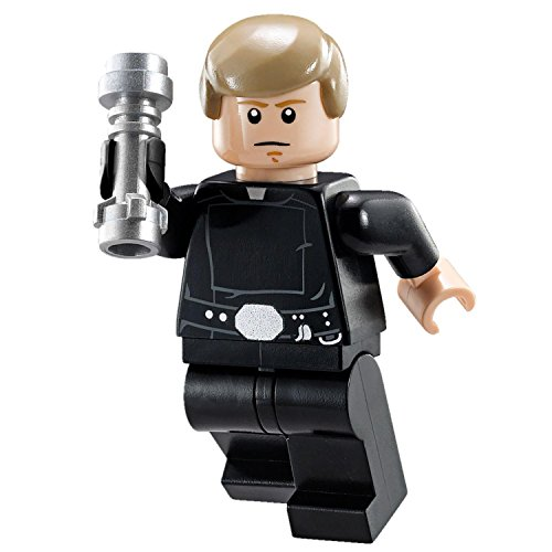 LEGO Star Wars Final Duel Minifigure - Luke Skywalker with Black Hand and Lightsaber (75093) by