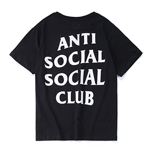 Unisex Hip Hop Mode Anti Social Social Club T-Shirt Sweat Tee Style Tee