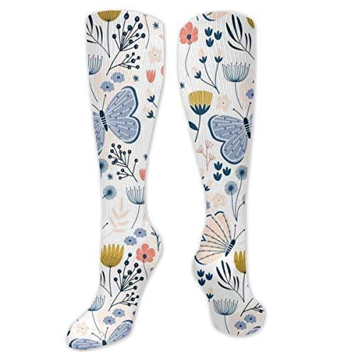 heefan Calcetines de moda unisex de poliéster + spandex, calcetines largos de tubo para botas de cosplay sobre la pierna calcetines altos para deportes gimnasio Yoga Hiki