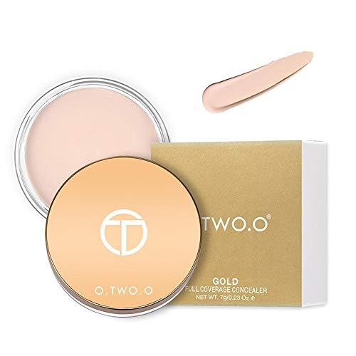 Base de maquillage pour crème anticernes anticernes pour les yeux Correcteur de longue durée, facile à porter, crème hydratante, contrôle de l'huile, éclaircit la peau