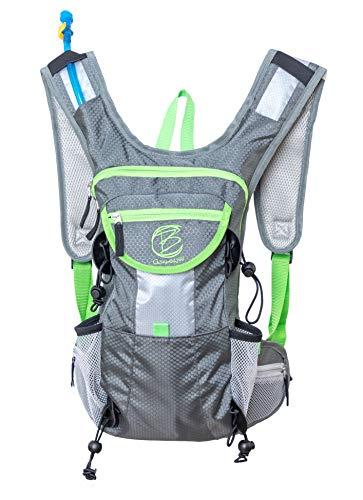 Fahrradrucksack - trinkrucksack mit trinkblase - fahrrad hydration backpack mountainbike - laufrucksack joggen - mtb rucksack - trailrunning rucksack - hydration pack - running backpack. Mit E-BOOK