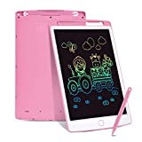 Swiftion LCD Writing Tablet,10 Inch Colorful Toddler Doodle Board Drawing Tablet,Erasable Reusable...