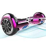 Mega Motion Hoverboard,Hoverboard Bambini autobilanciato a Due Ruote da 6,5 Pollici, con Altoparlante Bluetooth,...