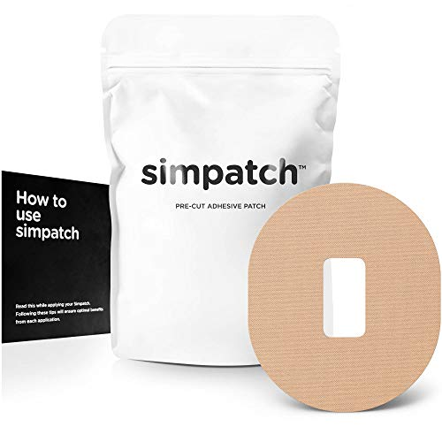 SIMPATCH Adhesive Patch for Dexcom - Pack of 25 - Multiple Colors Available (Beige)