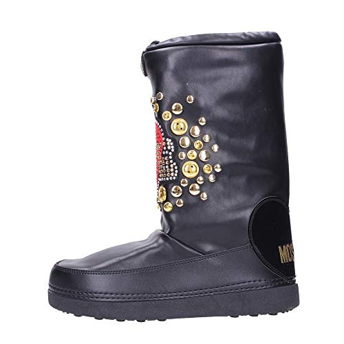 Love Moschino Bottes Neige Femme JA24052 Cuir Synthétique Noir