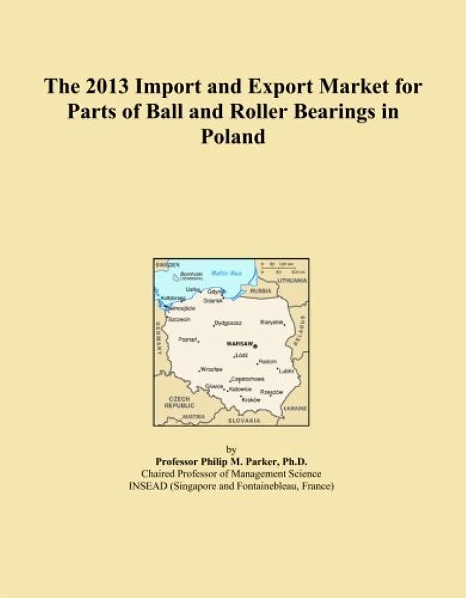 ムスタチオ伴う師匠The 2013 Import and Export Market for Parts of Ball and Roller Bearings in Poland