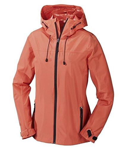 Crivit Outdoor Chaqueta de trekking para mujer, color naranja 40