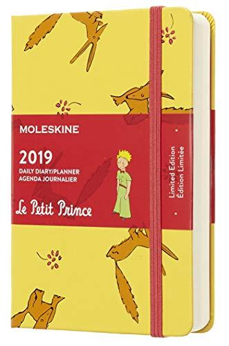 Moleskine 2019 Agenda Giornaliera Le Petit Prince 12 Mesi, in Edizione Limitata Tascabile, Giallo Girasole