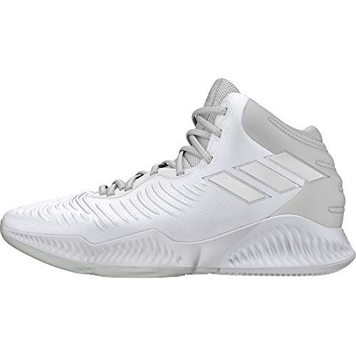 adidas Mad Bounce 2018, Zapatos de Baloncesto Hombre, Blanco (Crywht/Ftwwht/Ftwwht Crywht/Ftwwht/Ftwwht), 51 1/3 EU
