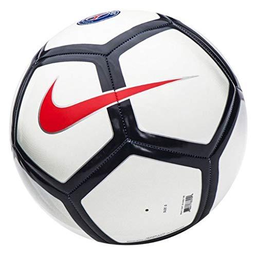 Nike Paris Saint-Germain Pitch Ballon de Football Mixte Adulte, White/Grey/Midnight Navy/(Red), 5