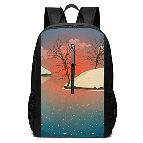 School Travel Business Bag Laptop BackpackMarvellous Animal Whale Turquoise High School Backpack Shoulder Rucksack Bag for Womens Mens Adults 17'