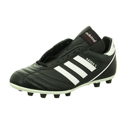 adidas Originals - Kaiser 5 Liga, Scarpe da calcio da uomo, Nero (Black/Running White Ftw/Red), 48 EU