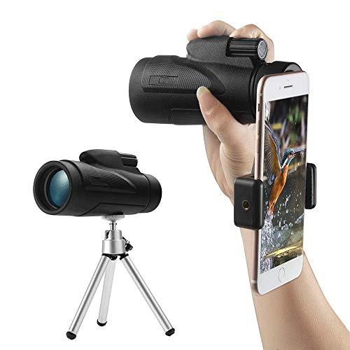 WNN-URG 40X60 hohe Vergrößerung Teleskop-Kamera-Handy-Teleskop for Outdoor, Low Light/Nachtsicht URG