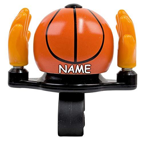 bb-Klostermann personalisiert mit Name - beBell Fahrradklingel Basketball 52133