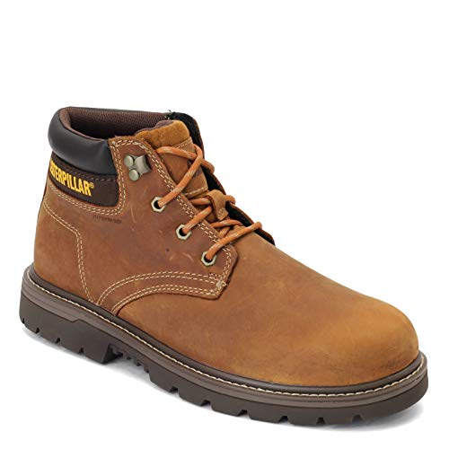 Caterpillar Men's Outbase Waterproof Work Boot, Brown, 10 M US