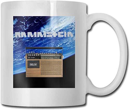Ram-ms-tein Band bis Radio Kaffeetasse Keramik Tasse 11 oz Geschenk für Männer und Frauen, die Tassen lieben
