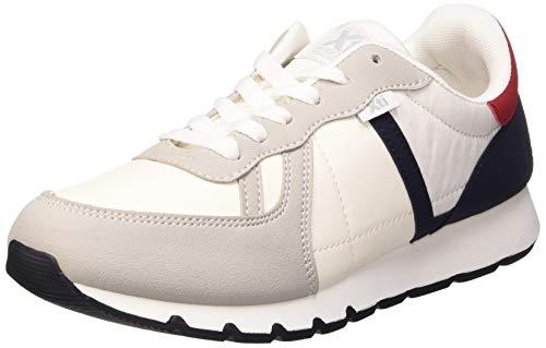 XTI 49684, Zapatillas Hombre, Blanco (Blanco Blanco), 42 EU