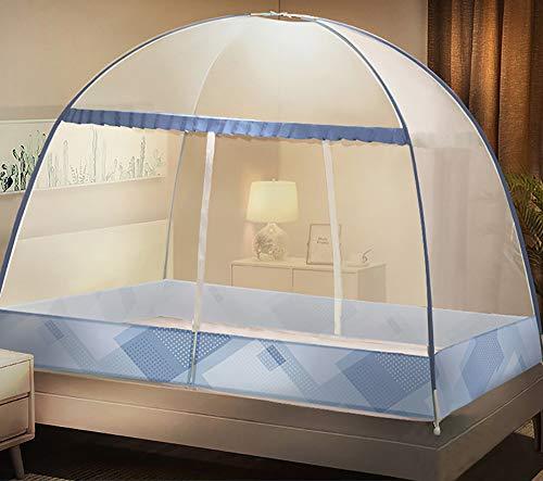 Moskito Netto Bett Baldachin Pop-up faltbare Doppel Tür einfach zu Setup für Bett Camping Travel Zelt Vorhänge ideal für Indoor und Outdoor use (C,1.8 * 2.0m)