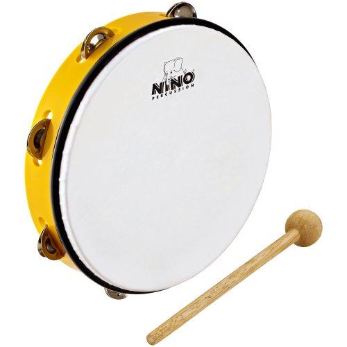 Nino Percussion NINO24Y ABS Tamburin gelb