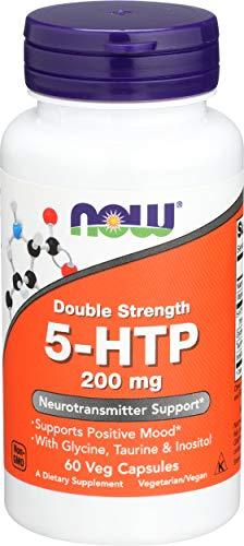 Now 200mg Double Strength 5-HTP 60 Veg Capsules