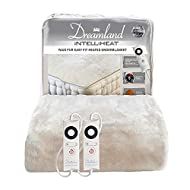 Dreamland Intelliheat Fast Heat up Deluxe Velvety Faux Fur Heated Electric Underblanket Super King S...