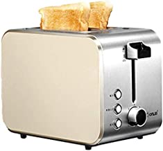 Multi-Function Double-Sided Baking Bread Machine, 7-Grade Baked Color All Kinds of Bread Machine - Home Breakfast 2 Slices...