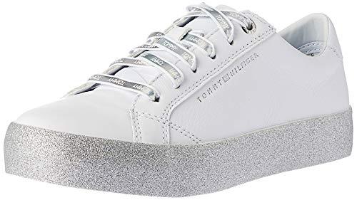 Tommy Hilfiger Damen Plateau-Sneaker Weiss (10) 40